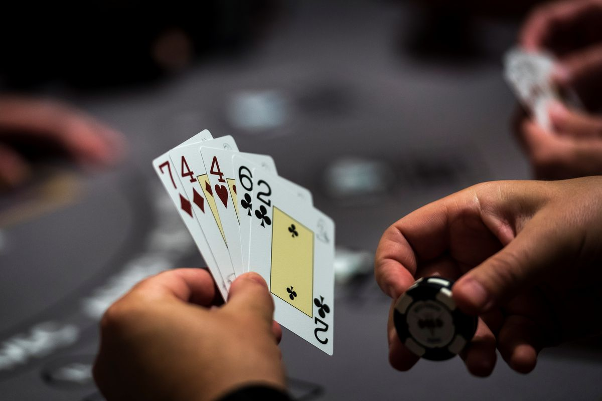 poker game card